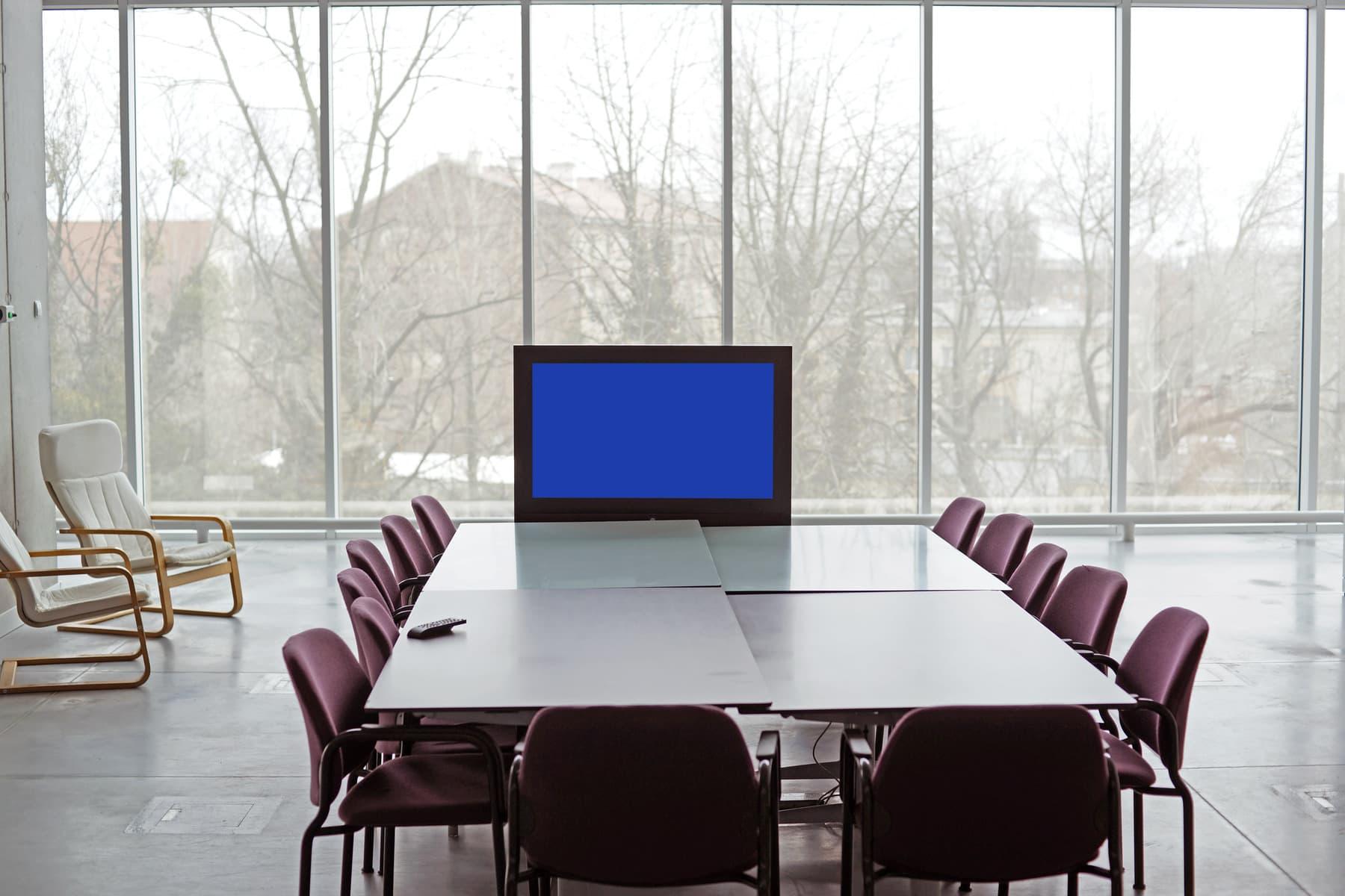 table de conférence